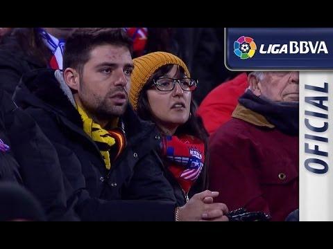Aficionados del Atlético decepcionados tras el empate