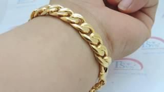 Lắc vàng nam giá rẻ , Lắc nam vàng, lắc đẹp -Mã số: TSVN009055