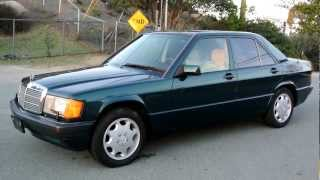 1993 Mercedes Benz 190E Limited Edition LE One of 700 Made W201 Sedan 1 Owner Classic Youngtimer