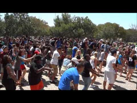 Texas A&m Wobble Flash Mob - Official Video video