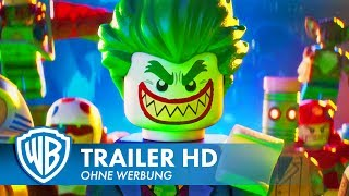 THE LEGO BATMAN MOVIE - Trailer #5 Deutsch HD German 2017