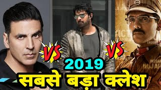 Triple Clash, Saaho vs mission mangal vs Batla House, Prabhash vs Akshay Kumar vs John Abraham