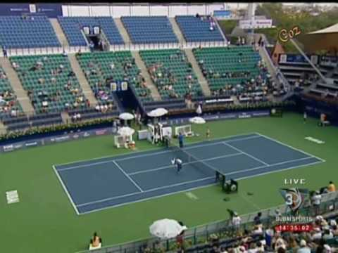 Venus Williams & Alize Cornet WTA Dubai 2009 (Last Game)