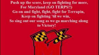 Maryland Fight Song