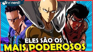 OS 15 MAIS PODEROSOS DE ONE PUNCH MAN