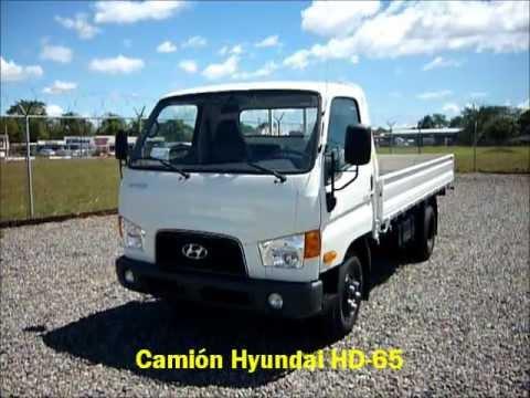 Camión Hyundai Modelo HD-65 Cargo