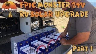 EPIC 24v RV Solar Upgrade with Battle Born Batteries & Victron Energy