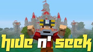 Minecraft Xbox One: Hide N' Seek in The Fantasy Castle! (Red Version)