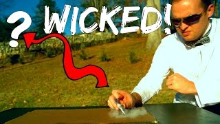 Wicked Mini Matches Rocket (plus Slow Motion) | Slow Mo Lab