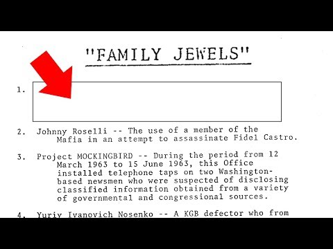 The CIA's Missing Family Jewels