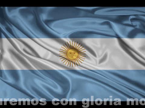 Himno Nacional Argentino - Instrumental (Jairo) y con letra.