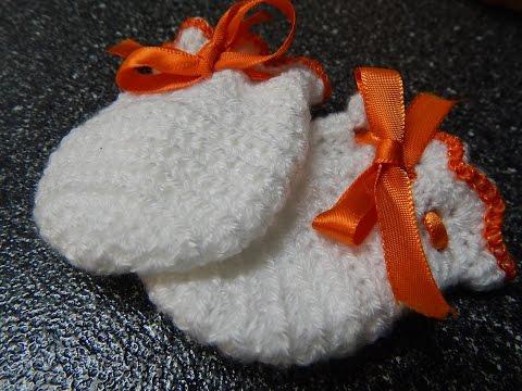 Guantes para Bebe Crochet