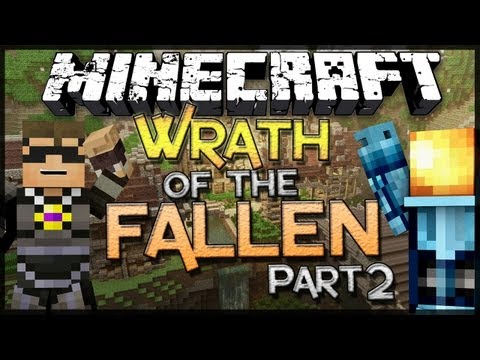 Minecraft: Wrath of the Fallen w SkyDoesMinecraft Part 2