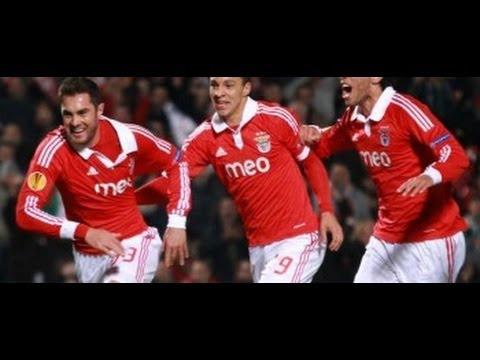 Goool - Benfica 1 - 2 Tottenham Europa Liga 20/03/2014