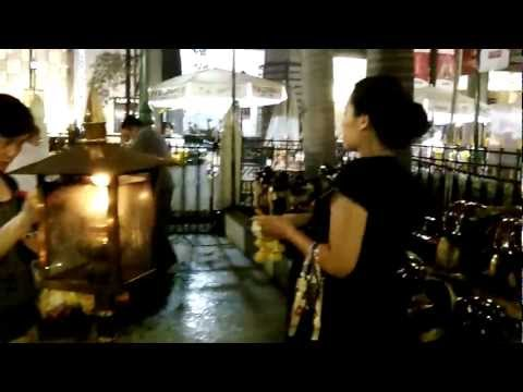 Thai paying respect to Hindu God Buddhist ways how to pray
