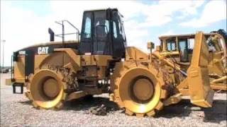1998 Caterpillar 825G Dirt Compactor