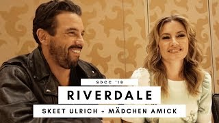 SDCC 2018: Skeet Ulrich and Mädchen Amick on the future of FP and Alice Cooper