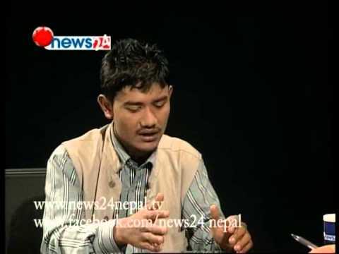 Real Face With Prem Baniya, Guest Rubid Gandharba
