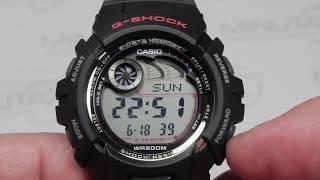 Обзор наручных часов CASIO G-SHOCK G-2900F-1V - видеообзор от интернет-магазина MinutaShop.ru