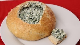 Homemade Spinach Dip Recipe - Laura Vitale - Laura in the Kitchen Episode 421