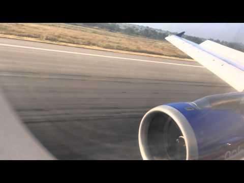 Indigo airlines landing view