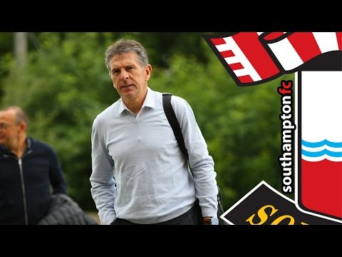 Puel's first day as Southampton manager