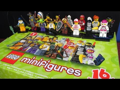 Lego Series 3 Mini Figures Case Unboxing 60 packs!