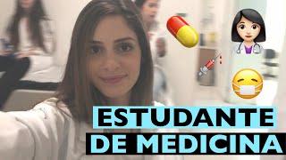 ROTINA DE UMA ESTUDANTE DE MEDICINA #16 | Camila Karam