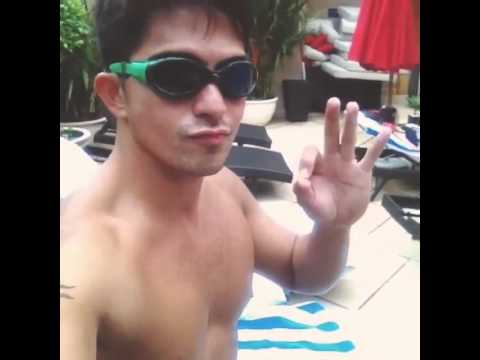Dennis Trillo Shirtless in Vietnam