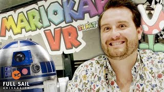 VR Mario Kart, Star Wars & Miles Gives a Speech | Full Sail Hall of Fame Week