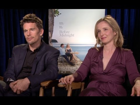 Before Midnight Interview & Official Trailer: Ethan Hawke & Julie Delpy on Jesse & Celine's Reunion