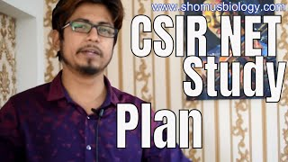 CSIR NET study plan | How to study smart for CSIR NET exam ?