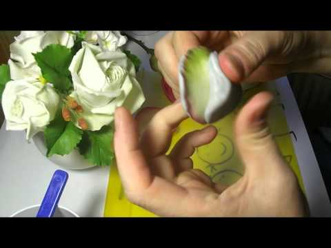 Молды вогнутые. Мастер Класс от Риты Часть 1. Molds for flowers. MK by Rita Part 1.