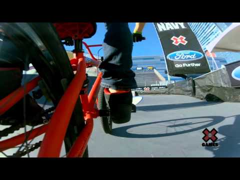 GoPro HD: Drew Bezanson BMX Park Uncut - Summer X Games 2012