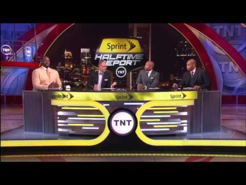Inside the NBA crew talks Klay Thompson, Ernie wants Shaq to stop talking,Shaqtin'a fool 5-8-13