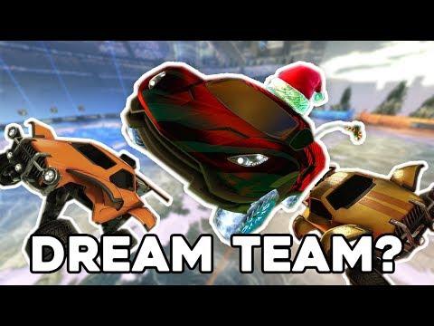 DREAM TEAM? | Rocket League Solo Standard