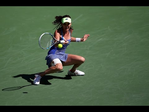 2016 BNP Paribas Open Third Round | Agnieszka Radwanska vs Monica Niculescu | WTA Highlights