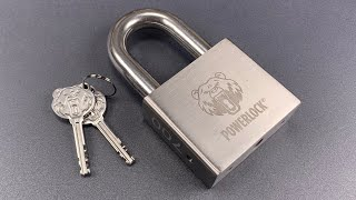 [930] Pre-Production Review — Powerlock PL-700 Padlock