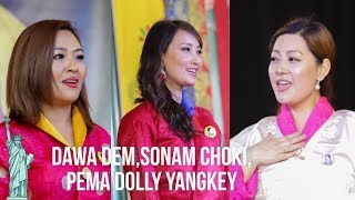 film Actresses ||Pema Dolley Yangkey ,Sonam Choki, Dawa Dem || New York || 2018 || HD