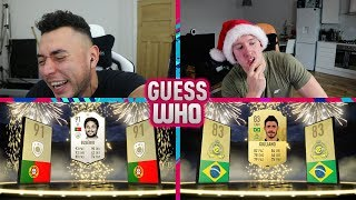 OUR FIRST ICON 😈 THE GUESS WHO FIFA PRANK ON REEV 🔥
