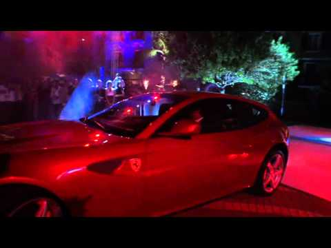 Ferrari FF Launching in Beirut 2011