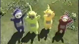 Teletubbies bailando Billie Jean dancing