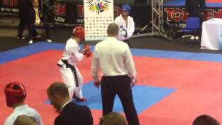Taekwon-Do ITF WC 2015 - Sparring  63kg Julio Carlos USA
