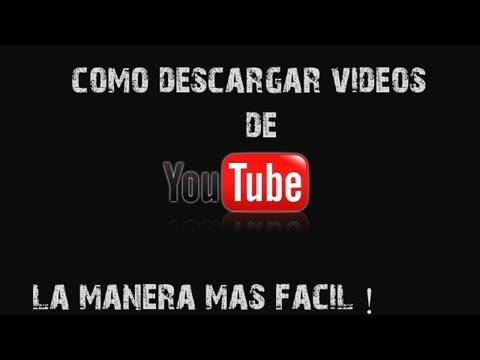 Como descargar videos de Youtube | CON 1 SOLO CLICK | SIN PROGRAMAS NI PÁGINAS [2013]