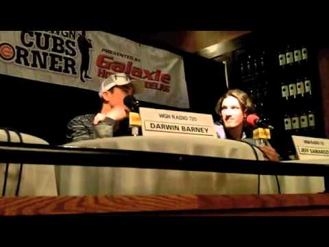 WGN's Cubs Corner at Wildfire: Darwin Barney and Jeff Samardzija