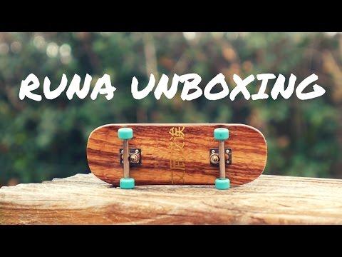 AMAZING FINGERBOARD!!! (Runa Fingerboard Unboxing / Review)