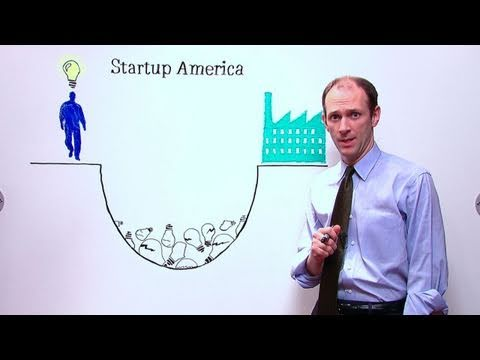 Screenshot from White House White Board: Austan Goolsbee on Startup America
