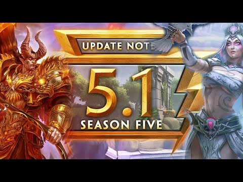 SMITE SEASON 5 PATCH NOTES | Patch 5.1 Update Notes