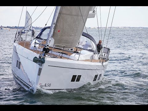 Hanse 548 - tested and reviewed