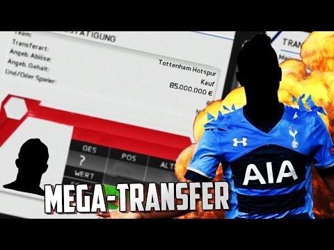 FIFA 16 KARRIERE - 85 MILLIONEN MEGA-TRANSFERS!!! FIFA 16 KARRIERE TOTTENHAM HOTSPUR #3